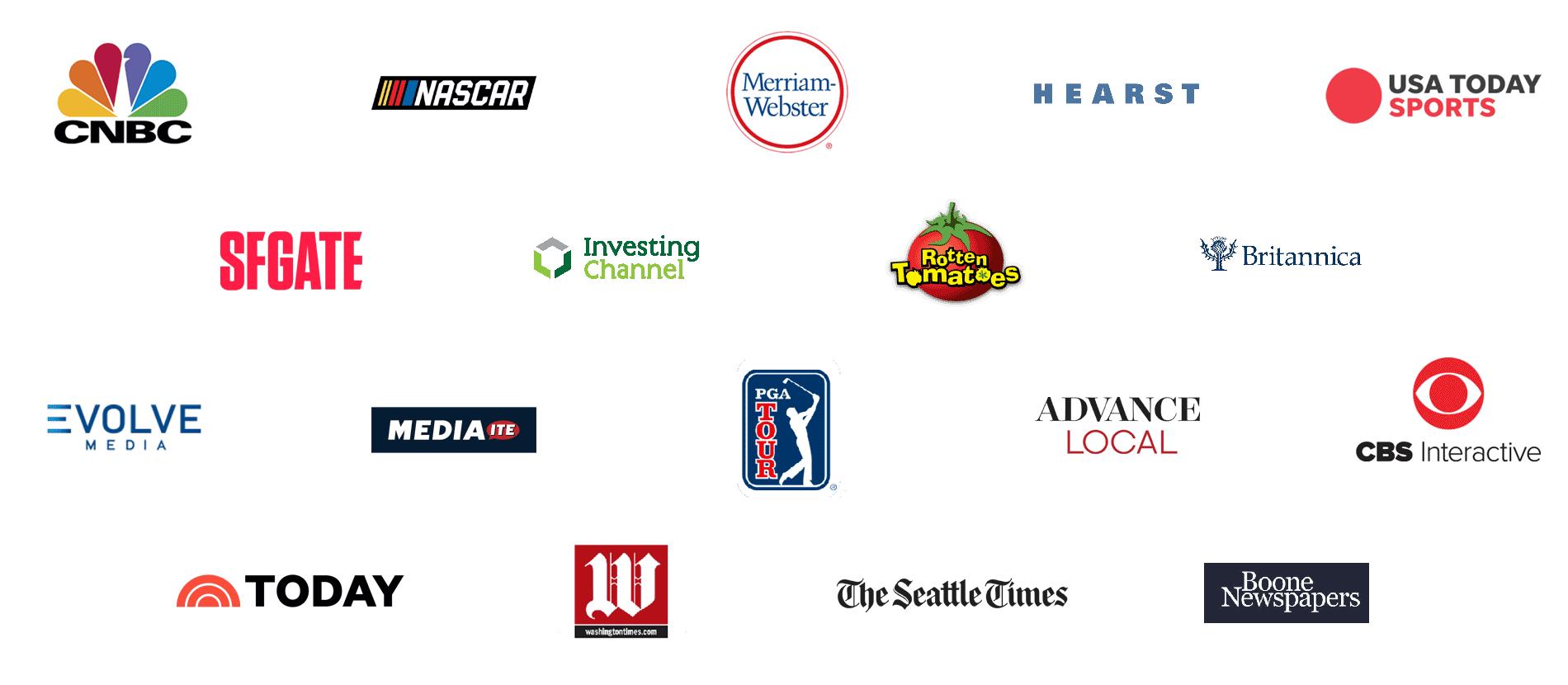 Admiral VRM Customer Logos
