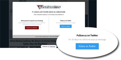 Screenshot Admiral Social Follower Growth Tools